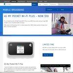 Telstra 4G My Pocket WI-FI Plus - $59 Del. (Was $99) Inc. 3GB Data