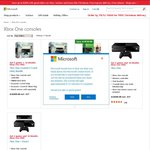 XB1 + Kinect + 12mth XB Live Gold + 6 Games $599, XB1 + 5 Games + 12mth XB Live Gold $499 @MS