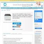 Ricoh C250DN Colour Laser Printer, 3 Year WTY, $98 @Cworld; Bonus Mono Laser + Free Delivery