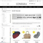 $30 off Fashion Items at Condura ($100 Minimum Spend)