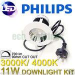 Philips SmartBright Mini 11W Dimmable Downlights (3000K & 4000K) 10pk $209.95 + Free Shipping @ ECO LED Lightings eBay