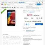 Moto G 2nd Gen $200 Delivered + $50 eBay Voucher @ Dick Smith eBay