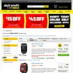 Pebble Smartwatch Black $85.19, Red $94 (after $15 Discount for Purchase $60- $99) Dick Smith