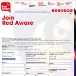 Free Safe Sex Kit with Condoms, Badges, Stickers and Other Merchandise from Red Aware