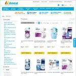 25% off Baby Care at Amcal (Free Shipping over $60)