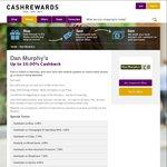 CashRewards Increases Cashback on Dan Murphy's Wines to 10%