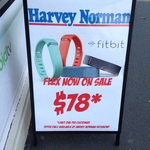 Fitbit Flex, Harvey Norman Richmond VIC Only. $78 Limit One Per Customer