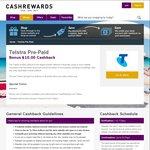 Telstra $30 Starter Kits $5 (after $10 Cashback) @ Cashrewards