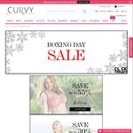 Up to 55% off Plus Size Bras at Curvy.com.au