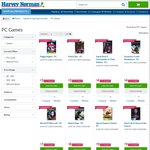 Harvey Norman Games Clearance - PC Games from $4