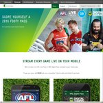Free NRL or AFL Season Pass from Telstra (Post Paid Mobile Plan Required)