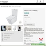 BelBagno Ardente Toilet $440 (Normaly $550) @ Bella Bagno Bathroom House