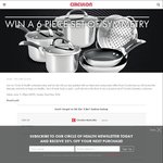 Win a 6 Piece Set of Symmetry Cookware (Valued at $740) from Circulon