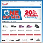 20% off Store Wide at Amart Sports One Day Sale (Full Priced Items Only)