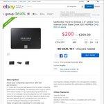 "Samsung 750 Evo 2.5"" SSD 500GB $160 Delivered @ Futu Online eBay"