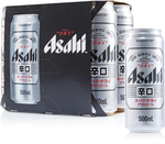Asahi Super Dry Cans 500ml - $15 for a 6 Pack @ ALDI