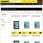 iPad Air 2 128GB $717, iPad Air 2 128GB + Cell $877, iPad Pro 9.7 256GB $1148, iPad Pro 12.9 256GB $1448 + More @ JB Hi-Fi