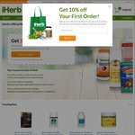10% off Your First Order (No Minimum Spend) @ iHerb