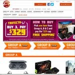 Trifecta Deals @ Shopping Express - 3x Items for $329 Shipped (GTX 1060 etc), or $699 Shipped (GTX 1070 etc)
