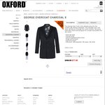 George Overcoat @ Oxford $77.40 + Shipping