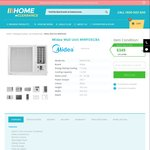 Midea MWF05CB4 Wall Air Conditioner (Box-Style) $349 + Free Shipping @HomeClearance Online