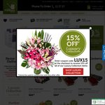 Half Price Roses (Save up to $50) + Delivery @Freshflowers.com.au, NSW Metro Only