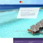Starwood Hotels - Pay 2 Nights, Get 3rd Night Free Using Mastercard