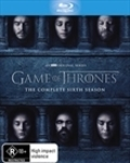 Sanity Online Sale incl. 3 for $48 TV Shows - Game of Thrones S6 Blu-Ray - $5.95 Shipping