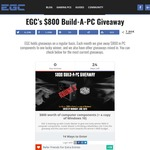 Win a PC worth $800US from EGC