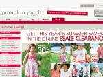 Pumpkin Patch Free Delivery + 25% off All eSale. No Minimum Spend Required