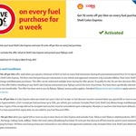 10 Cents off Fuel @ Shell Coles Express - Flybuys Activation Required