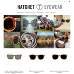 Wood Sunglasses over 70% Off | Hatchet Eyewear Going Out of Business Sale |  | Free Shipping