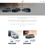 Volvo V40 Hatch (Auto) with Free Navigation Pack $34,888