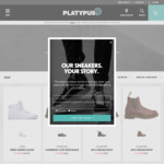 Further 50% off Sale Items @ Platypus Shoes Online