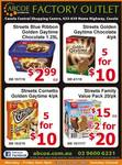 [NSW] Ice Cream Specials: Golden Gaytime Tub 1.25l $2.99, Golden Gaytime 4pk (5 box) for $10 @ Abcoe Casula Shopping Outlet