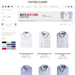 Buy 2 BUSINESS SHIRTS, Get 1 FREE | Stafford Ellinson