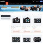 Sony Bonus EFTPOS Gift Card on Selected Cameras/Lenses
