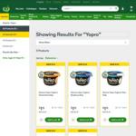 ½ Price Danone Yopro Yoghurt Varieties 160gm (15g Protein) $1.12 @ Woolworths