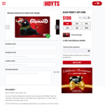 Hoyts e-Gift Cards 15% off (Purchase $100 or More)