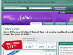 MyBus2 Travel Ten for $13.40  -  Sydney Only [Sold out]