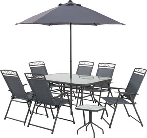 Atlantis 9 Piece Outdoor Setting 99 Pickup Was 269 Bunnings