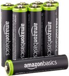 AmazonBasics AAA Rechargeable Battery 8-Pack $20.70 (US $16.08) Delivered [Made in Japan] @ Amazon