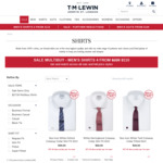 $20 off $130 Spend @ T.M Lewin (E.g 5 Shirts + 1 Knot Link for $120.30 Delivered | $24.06 Per Shirt)