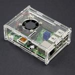 Laser Cut Case (Incl. Fan + Heatsinks) for Raspberry Pi B - $4.35 + Postage @ Core Electronics