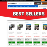 EB Games February Best Sellers Sale - Eg. Shadow of War Gold Edition $77, Mass Effect: Andromeda RC Edition, $77 + More inside