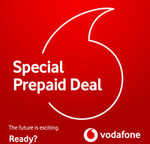Vodafone $40 Prepaid Data Combo Starter Pack for $15 with 18GB Total Data @ LivingSocial