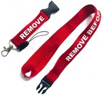 """Remove Before Flight"" Lanyard Neck Strap with Quick Release Buckle for ID Badge/Mobile Phones US$0.79 (AU$1) Delivered @ Zapals"