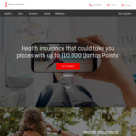 110K QFF Points on Couples/Family Health Insurance Qantas Assure (60 Days)