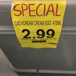 $2.99 Cadbury Creme Egg Ice Cream 475ml @ Supabarn [ACT]
