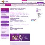 SYD, BNE, MEL to Rome / Milan/ Brussels/ Copenhagen/ Oslo/ Stockholm/ Vienna $1113 Return with StopOver/Open Jaw @ Thai Airways
